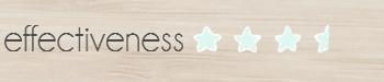 effectiveness3.5