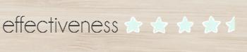 effectiveness4.5